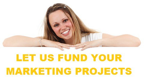 We fund your marketing