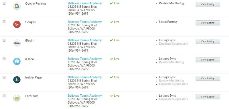 Local Listings Monitor
