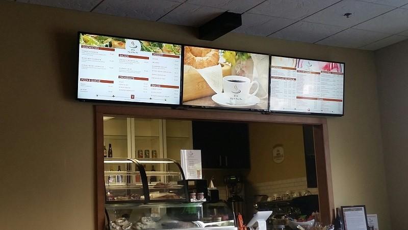 BTA Cafe TVs