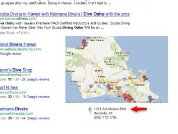 Kaimana Divers Search Ranking