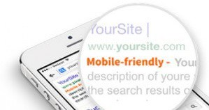 Mobile Friendly for Search Ranking