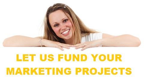 We fund your marketing