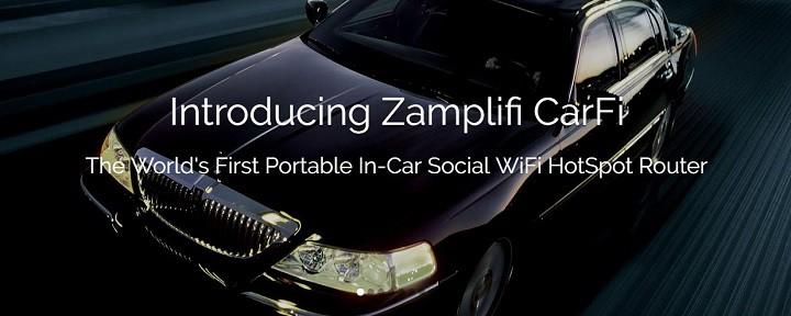 Zamplifi CarFi Email Campaign